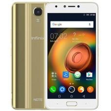Infinix Note 4 pro X572 Dual Sim - 32GB, 3GB RAM, 4G, Gold