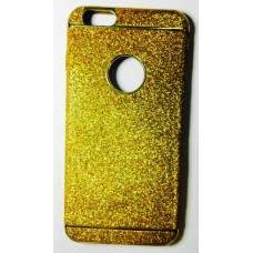 Cover for iphone 6 Plus glitter Gold