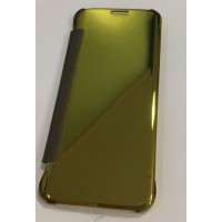 Flip Cover Smart sensor for Samsung S7 Edge Gold