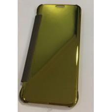 Flip Cover Smart sensor for Samsung S7 Edge Gold