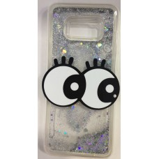 Cover for Samsung S8 Plus water glitter