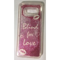 Cover for Samsung S8 water glitter