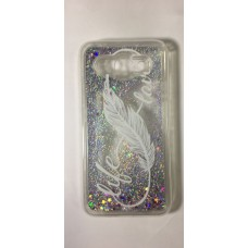 Cover for Huawei Y3 2017 water glitter