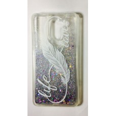 Cover for Huawei Y7 Prime water glitter
