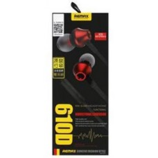Remax RM-610D In-ear Stereo Headphone - Red