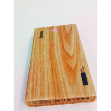 hoco B12B Wood Grain Power Bank 13000 mah - Wood G...